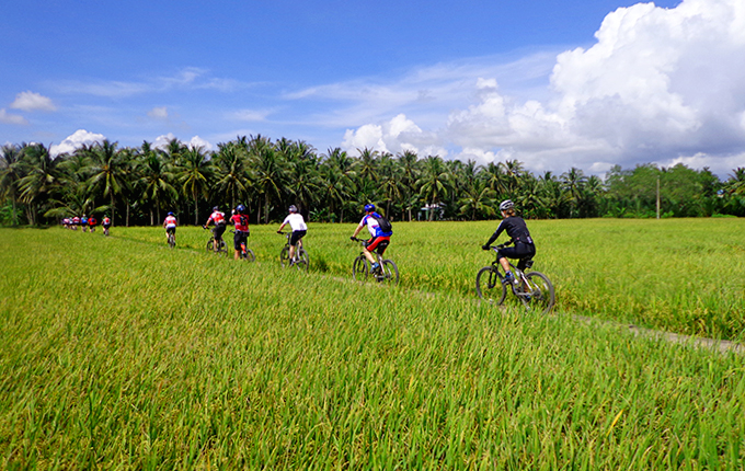 4D/3N PACKAGE MEKONG BIKING